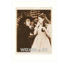 Wizard of Oz Wicked Witch Art Print