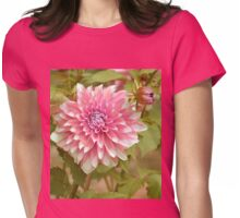 May your dreams bloom this new year Womens Fitted T-Shirt