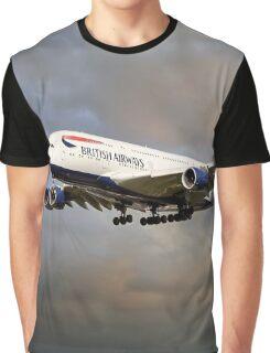 British Airways Airbus A380 Graphic T-Shirt