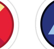 Ruby Saphire - Gems Sticker