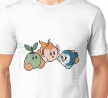 Kirby Pokémon Starters Unisex T-Shirt