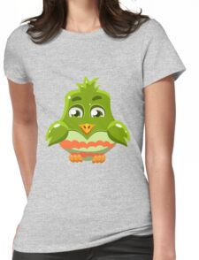Colorful Bird  #6 Womens Fitted T-Shirt