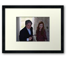 2015 - Doctor Who and Amy Pond cosplayers Framed Print