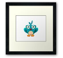 Colorful Bird  #7 Framed Print