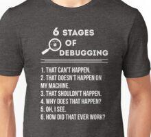 Debugging Unisex T-Shirt