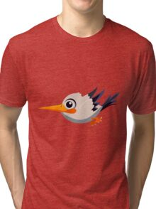 Colorful Bird  #8 Tri-blend T-Shirt