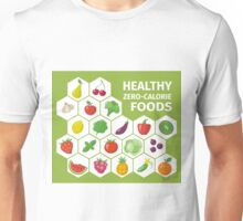 Healthy Zero Calorie Foods Unisex T-Shirt