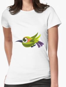 Colorful Bird  #9 Womens Fitted T-Shirt