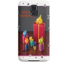 Merry Christmas Gift Boxes Holiday Greeting Samsung Galaxy Case/Skin
