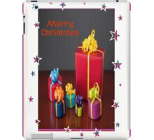 Merry Christmas Gift Boxes Holiday Greeting iPad Case/Skin