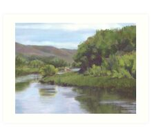 Upper Leasy River Art Print