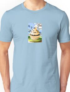 Chocolate Cupcakes with Vanilla Frosting Unisex T-Shirt