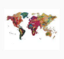 World map 2027 One Piece - Short Sleeve