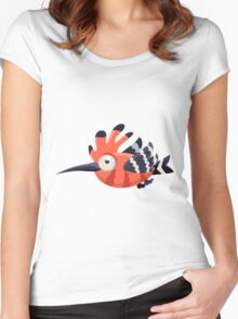 Colorful Bird  #11 Women's Fitted Scoop T-Shirt