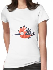 Colorful Bird  #11 Womens Fitted T-Shirt