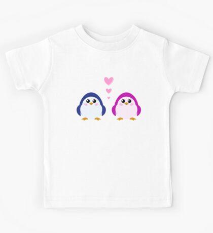 love penguins Kids Tee