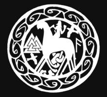 The Norse God Odin by Antony Potts