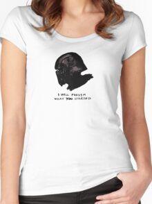 Grandfather - Kylo Ren Women's Fitted Scoop T-Shirt