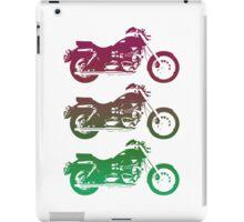triumph motorcycle vintage retro design iPad Case/Skin