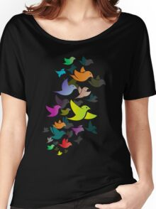 Colorful Bird  #14 Women's Relaxed Fit T-Shirt