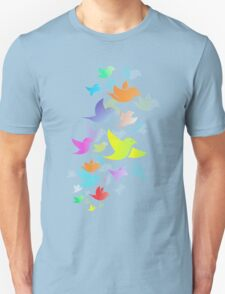 Colorful Bird  #14 Unisex T-Shirt