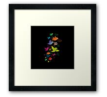 Colorful Bird  #14 Framed Print