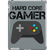 Hard Core Gamer iPad Case/Skin