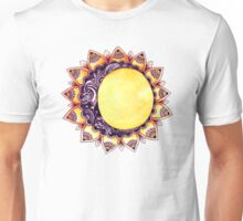 the moon Live by the sun Unisex T-Shirt