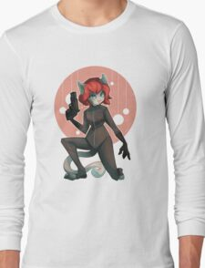 Kitty Widow Long Sleeve T-Shirt