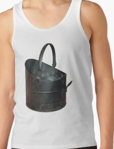Coal Bucket Worn and Scratched Tank Top