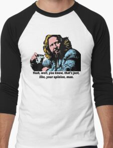 The Big Lebowski and Philosophy 1 Men's Baseball ¾ T-Shirt