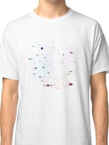 Network of Programming Language Influence 2014 - White Background Classic T-Shirt