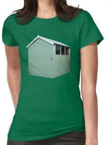 Garden Shed Green Womens Fitted T-Shirt