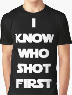 Shot First Graphic T-Shirt
