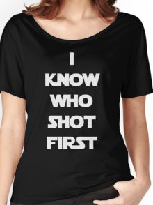 Shot First Women's Relaxed Fit T-Shirt