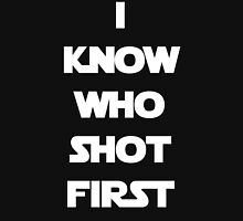 Shot First Unisex T-Shirt
