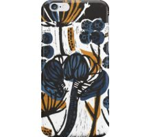Natural Form Relief Print iPhone Case/Skin