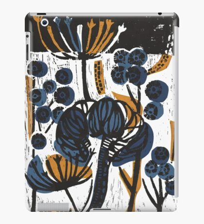 Natural Form Relief Print iPad Case/Skin