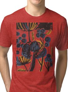 Natural Form Relief Print Tri-blend T-Shirt