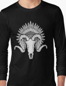 Goat Skull Long Sleeve T-Shirt