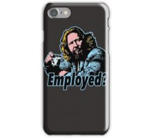Big lebowski Philosophy 11 iPhone Case/Skin