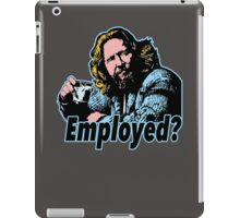 Big lebowski Philosophy 11 iPad Case/Skin