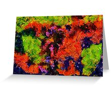 Fulcolor Abstract Greeting Card