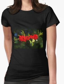 Herald Of A Harsh Winter Womens Fitted T-Shirt