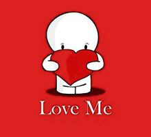 Love me Women's Fitted Scoop T-Shirt