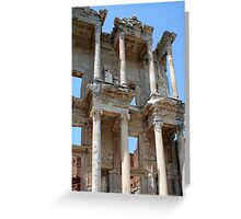Library of Celsus, Ephesus Ancient City, Turkey Greeting Card