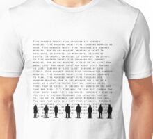 Seasons of Love(Black) Unisex T-Shirt