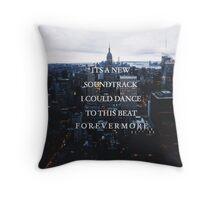 NEW SOUNDTRACK Throw Pillow