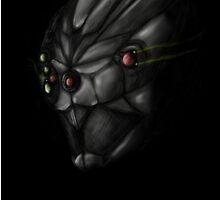 Cyborg Ninja Warrior Black by PrintVision