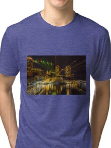 Christmas Light of Boston  Tri-blend T-Shirt